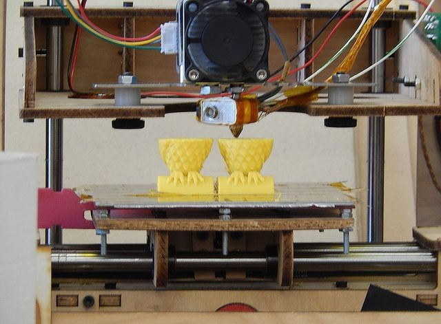 makerspace-3dprinter-in-action