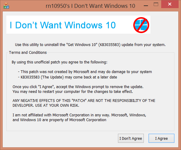 how to get rid of windows 10 upgrade notification in windows 7 8
