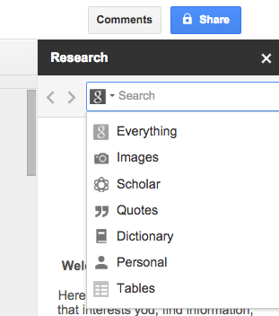 Google Docs vs. Microsoft Word: The Death Match for Research Writing researchtool2