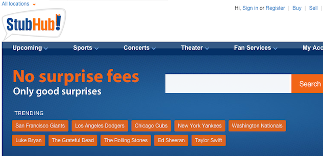 6 Strong Alternatives to Ticketmaster for Buying Event Tickets stubhub2