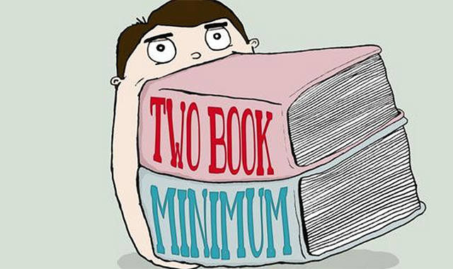 two-book-minimum