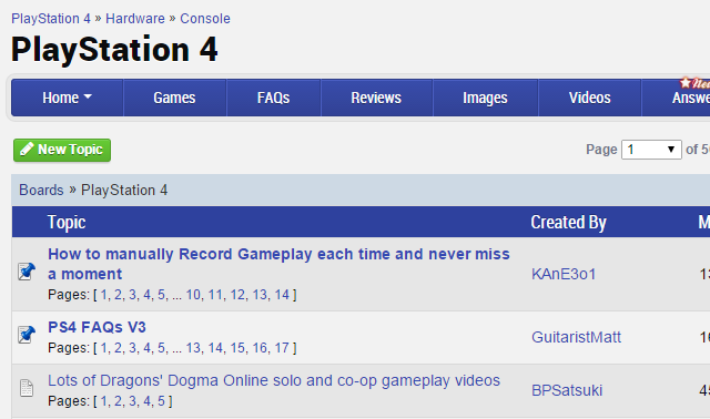 03-GameFAQs-Boards