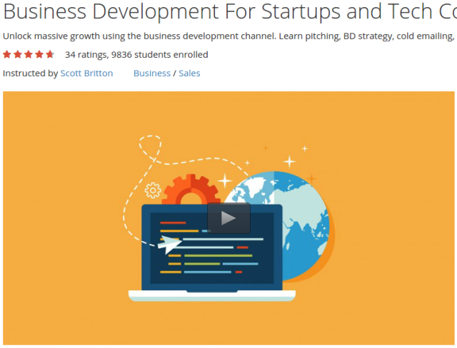 Business Development For Startups and Tech Companies