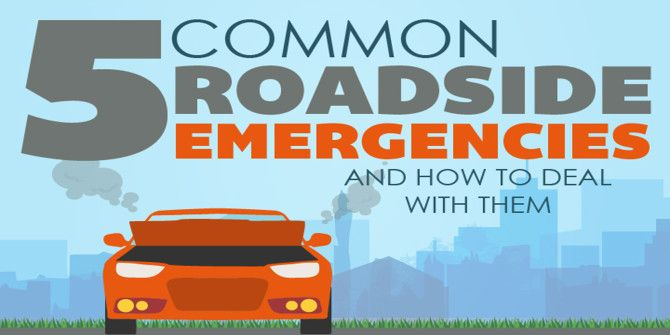 How To Deal With 5 Common Roadside Emergencies