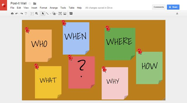 8 creative uses of google drawings you shouldnt ignore google drawings post it notes ccuart Images
