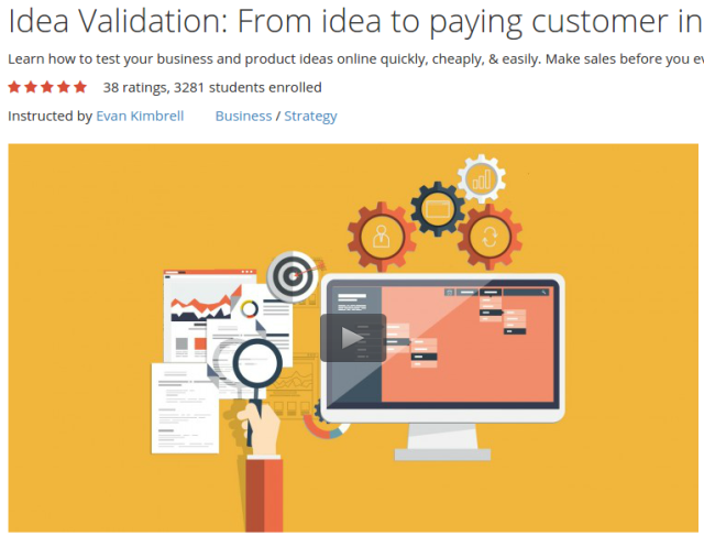 Idea Validation From idea to paying customer in 1 day