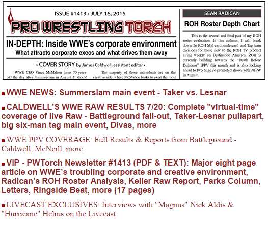 Pro Wrestling Torch