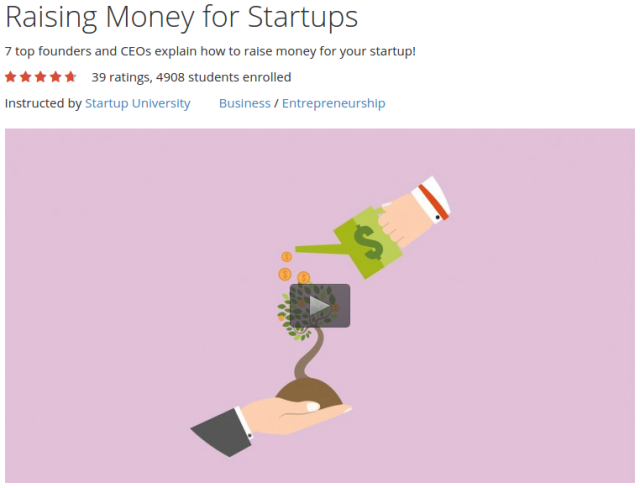 Raising Money for Startups