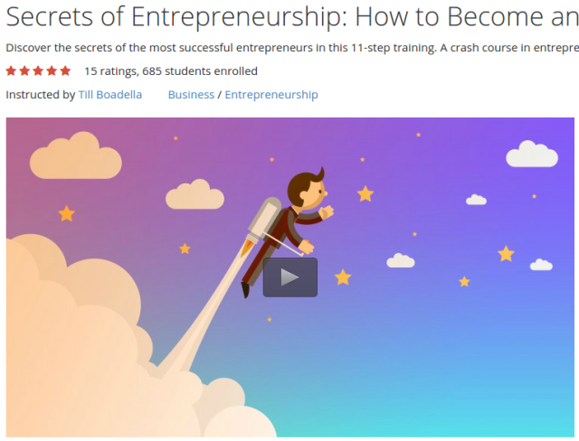 Secrets of Entrepreneurship How to Become an Entrepreneur