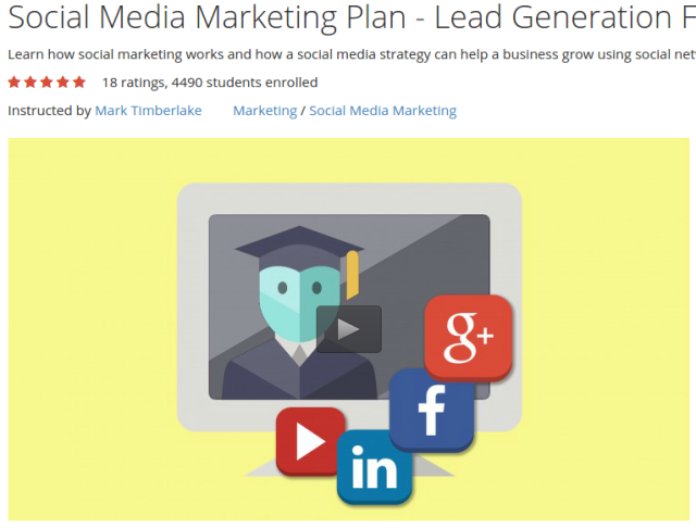 Social Media Marketing Plan - Lead Generation For Businesses