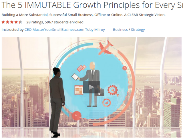 The 5 IMMUTABLE Growth Principles for Every Small Business