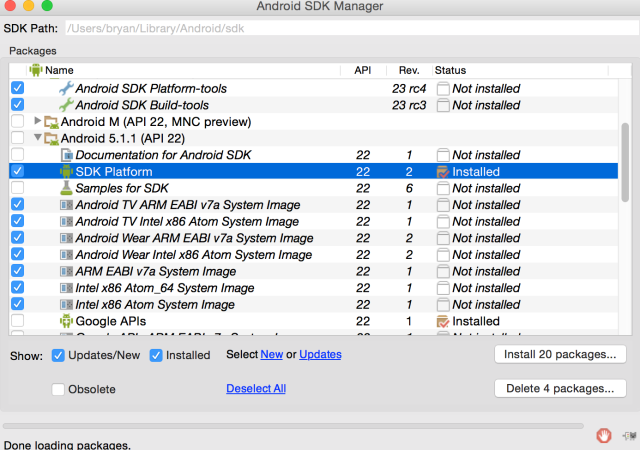 How to Set Up Android Studio on Your Mac (And Why You'd Want to) android sdk platform tools 640x450