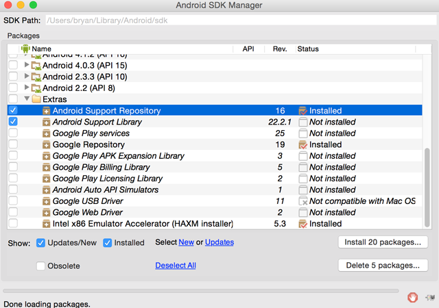 How to Set Up Android Studio on Your Mac (And Why You'd Want to) android support repository 640x450