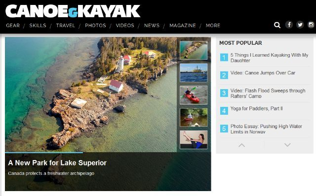 canoe and kayak site