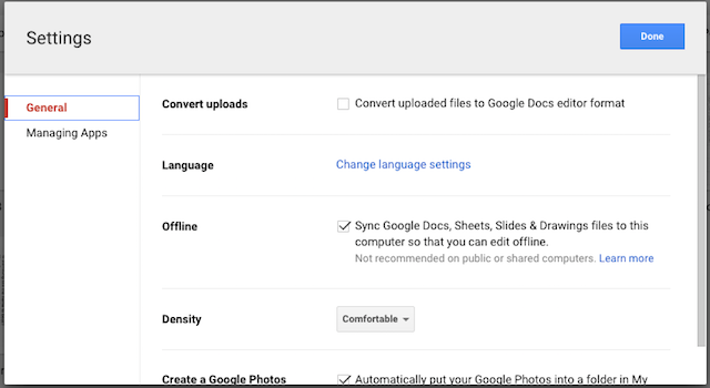 how to use google docs or drive offline on pc mobile