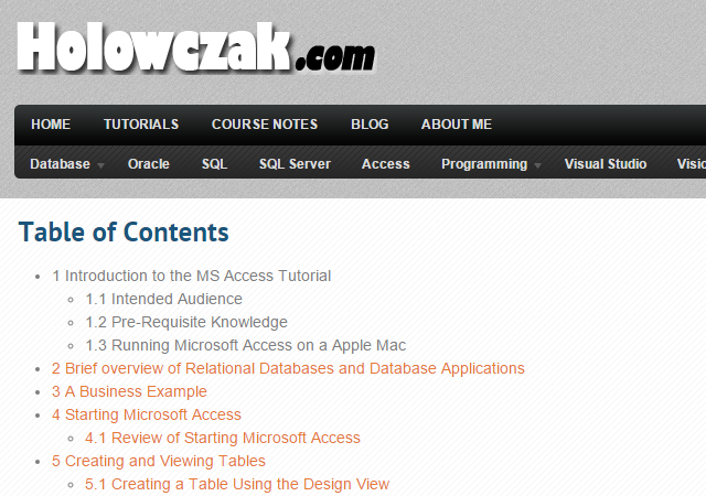 free-access-tutorials-holowczak