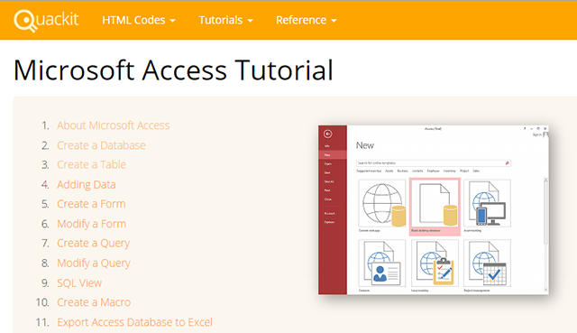 free-access-tutorials-quackit