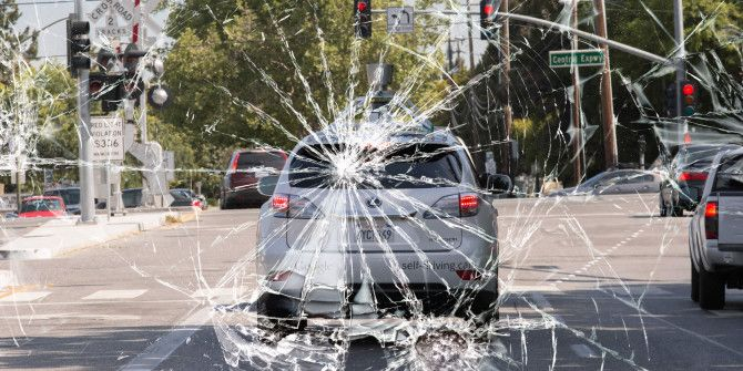 See A Car Crash From the Perspective of Google's Self Driving Car