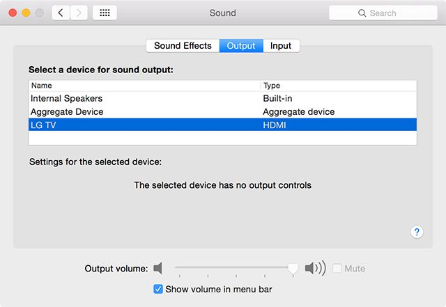 Sound Not Working on Your Mac? Easy Fixes For Audio Problems hdmi
