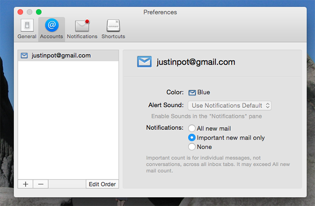 Kiwi is Basically Gmail for Mac kiwi gmail important notifications
