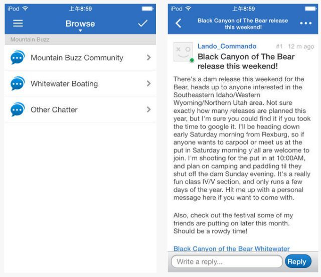mountain buzz app