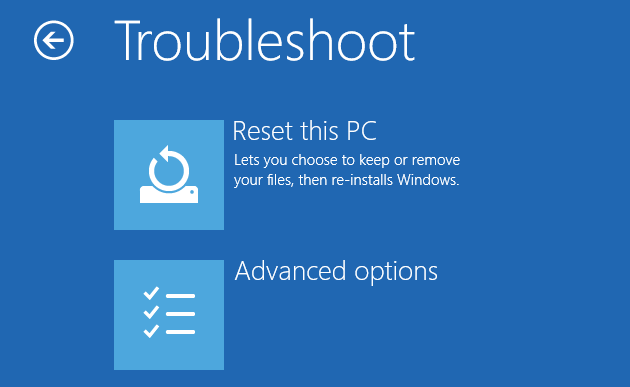 How to Factory Reset Windows 10 or Use System Restore muo windows w10 restore reset boot