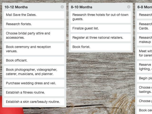 trello-wedding-planner