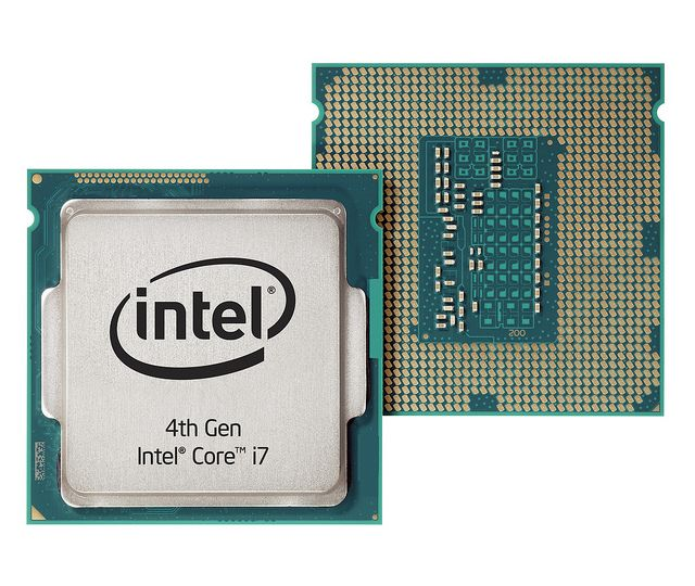 4th Generation Intel® Core™ i7 Processor Front and Back