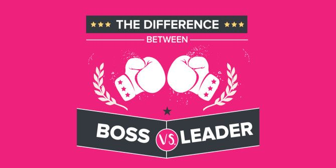 What's The Difference Between a Boss and a Leader?