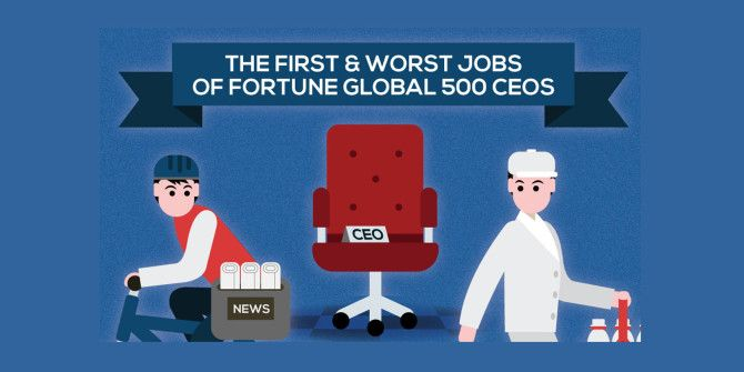 What Jobs Did the Most Famous CEOs Hold When They Were Young?