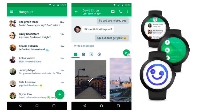 Google finally made a hangouts web app its worth it hangouts 40 on mobile stopboris Images