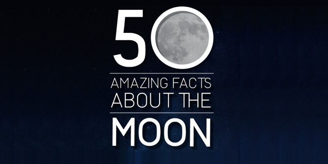 Everything You Didn't Know That You Wanted to Know About the Moon