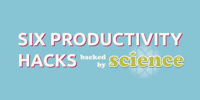 6 Productivity Tricks Backed by the Power of Science