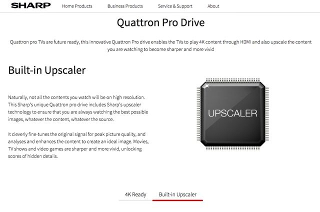 Upscaling: How Does It Work and Is It Worth It? Sharp Quattron Pro Drive