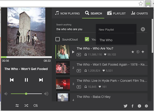 These extensions make youtube the powerful music player you need upnext youtube music extension replace streamus chrome stopboris Image collections