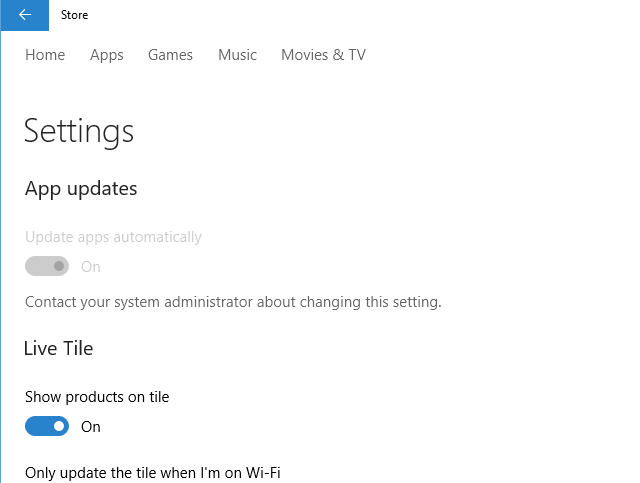 How To Turn Off Automatic App Updates In Windows 10 Win10 Home Store settings 3