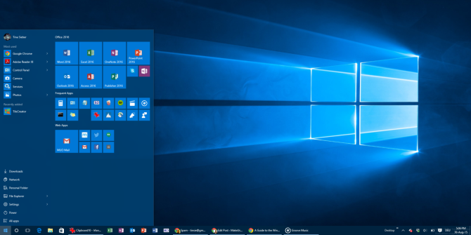 How to Add Website Shortcuts to Your Windows 10 Start Menu