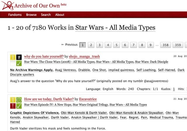 archive-sw-fan-fic-list