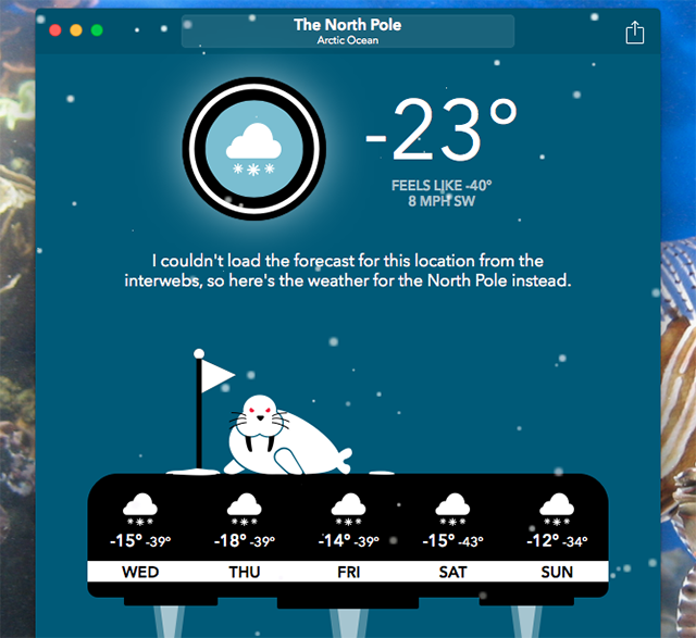 carrot-weather-offline