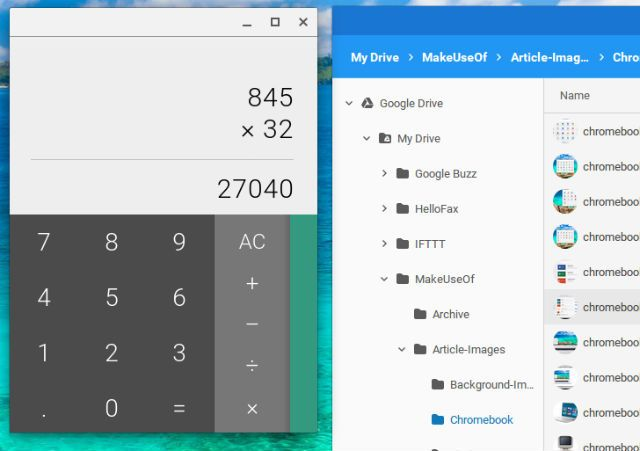 """In the search field, you can still type in """"calculator"""" or """"files"""" and open  up those utilities just like you would on Windows."""