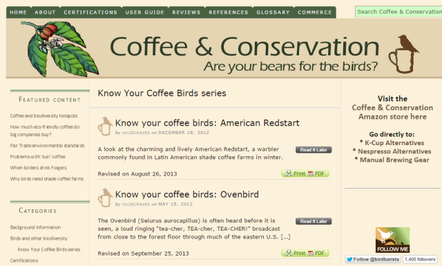 coffee-conservation