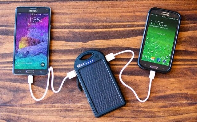 Creative Edge Solar Charger