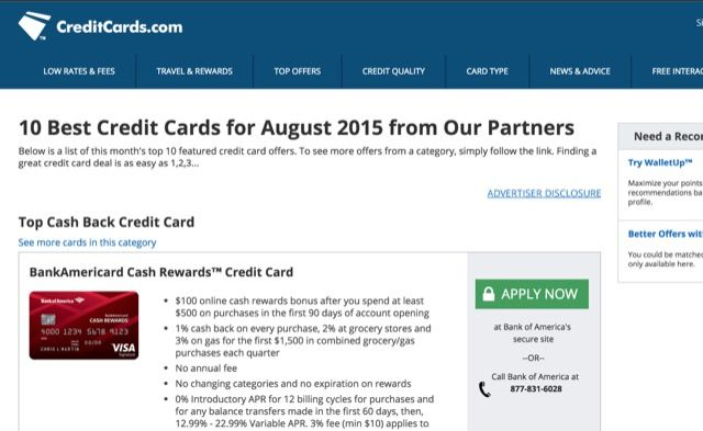 Find the Best Credit Card Deals Online With These 10 Awesome Sites