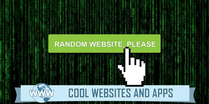 Random Net Stuff: 5 Ways to Randomly Find New Things Online
