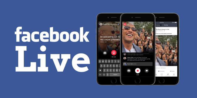 Facebook Live Debuts Real-Time Mobile Video Broadcasts (But Only for Celebs)