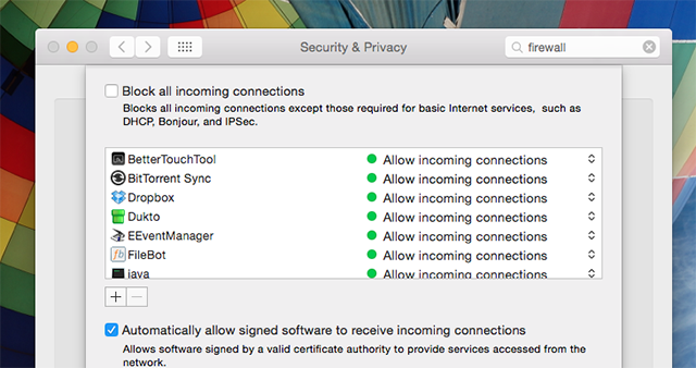 Here's The Only Mac Security Software You Need mac firewall settings