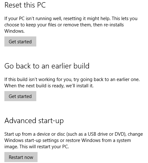 How to Change the Boot Order on Your PC (So You Can Boot From USB) muo windows w10 settings privacy restore