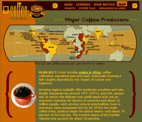 8 Excellent Websites For An Improved Cup Of Coffee
