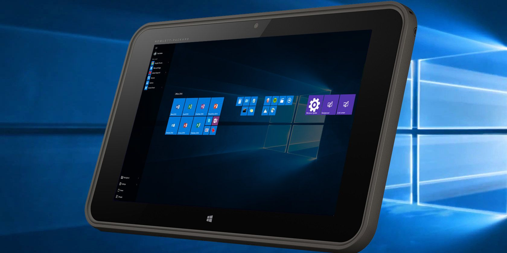 How Well Does Windows 10 Work on a Tiny Tablet?   MakeUseOf