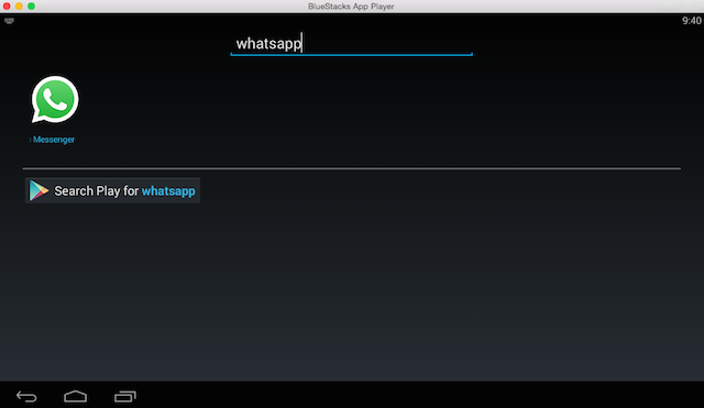Bluestacks-whatsapp-search